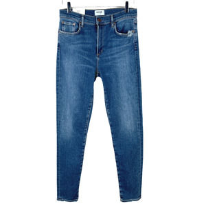 Agolde Sophie Mid Rise Ankle Jeans in Tamie
